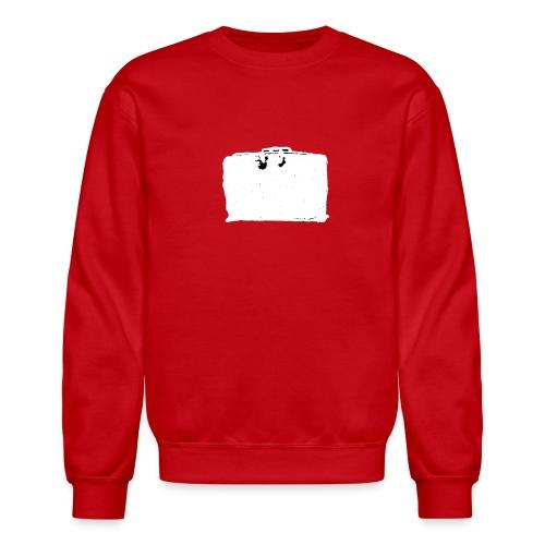 Sweatshirt, Inverted (White) Classic Black Bag - Crewneck Sweatshirt