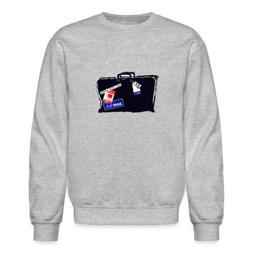 Sweatshirt, McFadden Travel Black Bag - Crewneck Sweatshirt