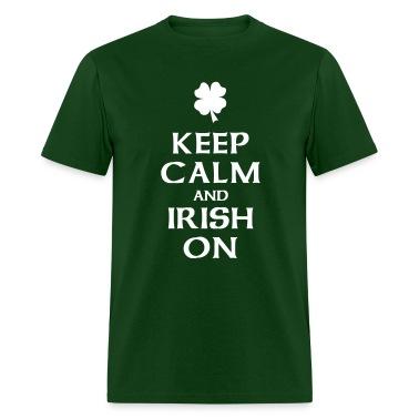 Keep Calm and Irish On T-Shirts
