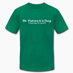 St. Patrick's Challenge Accepted T-Shirts