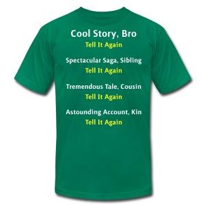 Cool Story Bro - Tell It Again - Variations - Mens T-Shirt - Men's Fine Jersey T-Shirt