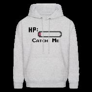 Hoodies ~ Men's Hoodie ~ Catch Me Men's Hoodie Sweatshirt