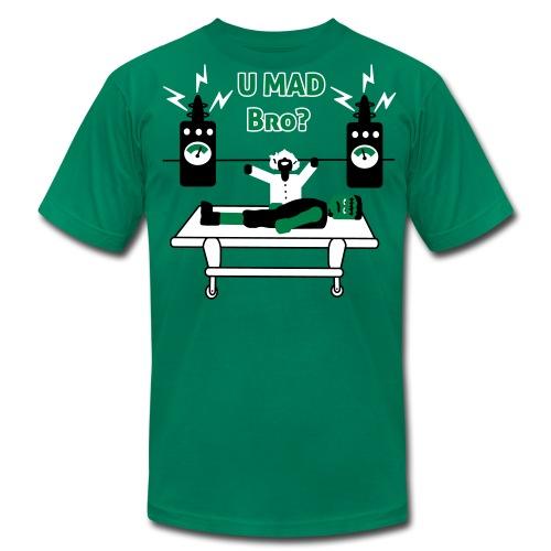 U Mad Bro ? - Frankenstein - Mens T-Shirt - Men's Fine Jersey T-Shirt