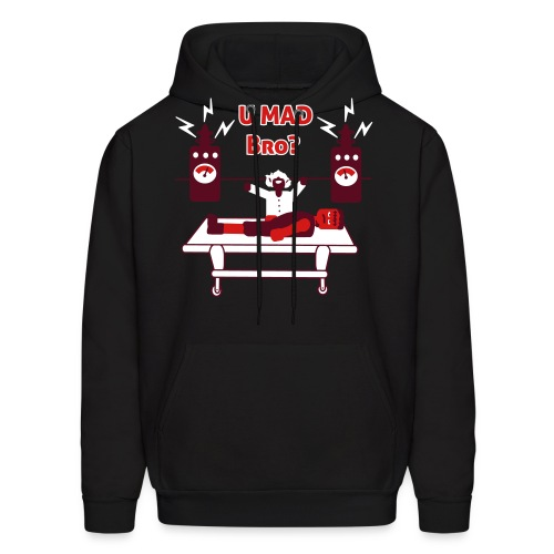 U Mad Bro ? - Frankenstein - Mens Hoodie Sweatshirt - Men's Hoodie