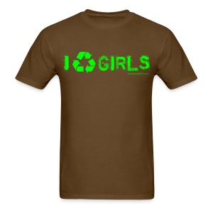 I [recycle] GIRLS - Men's T-Shirt
