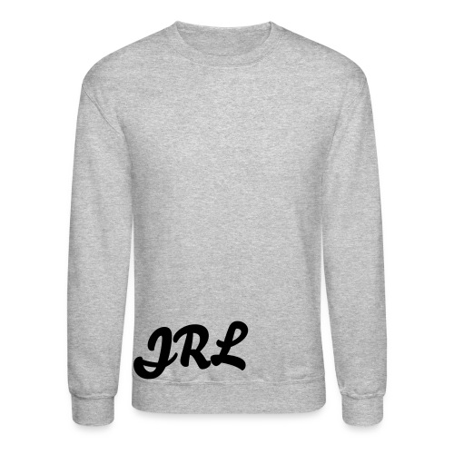 JRL Crewneck Gray/Black - Crewneck Sweatshirt