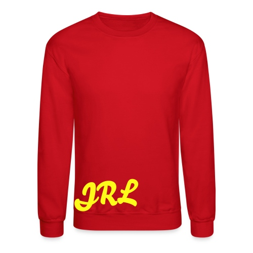 JRL Crewneck Red/Yellow - Crewneck Sweatshirt