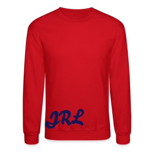 JRL Crewneck Red/Navy - Crewneck Sweatshirt
