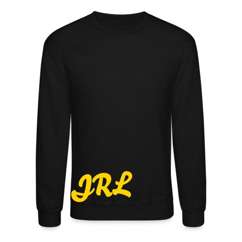 JRL Crewneck Black/Gold - Crewneck Sweatshirt
