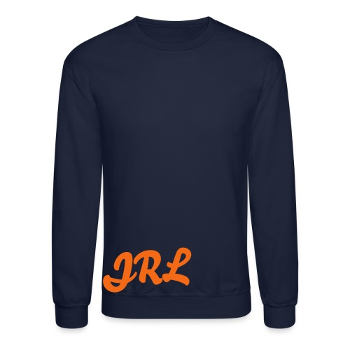 JRL Crewneck Navy/Orange - Crewneck Sweatshirt
