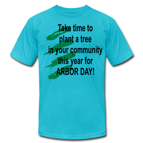 Arbor Day in your community - Men's Fine Jersey T-Shirt