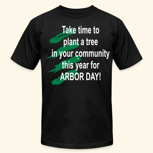 Arbor Day in your community - Men's  Jersey T-Shirt
