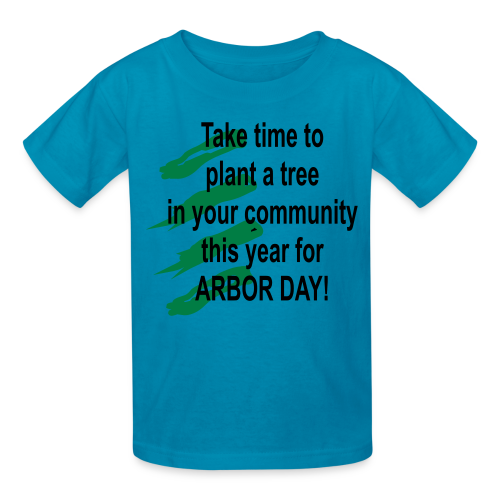 Arbor Day in your community - Kids' T-Shirt