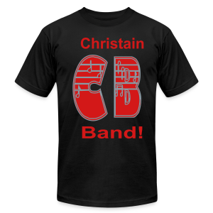 Christain Band - Men's T-Shirt by American Apparel