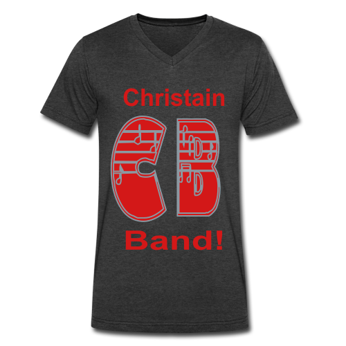 Christain Band - Men's V-Neck T-Shirt by Canvas