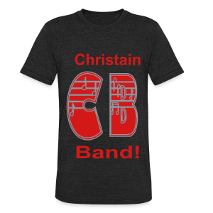 Christain Band - Unisex Tri-Blend T-Shirt by American Apparel