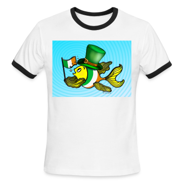 Irish flag fish fabspark Ireland lucky