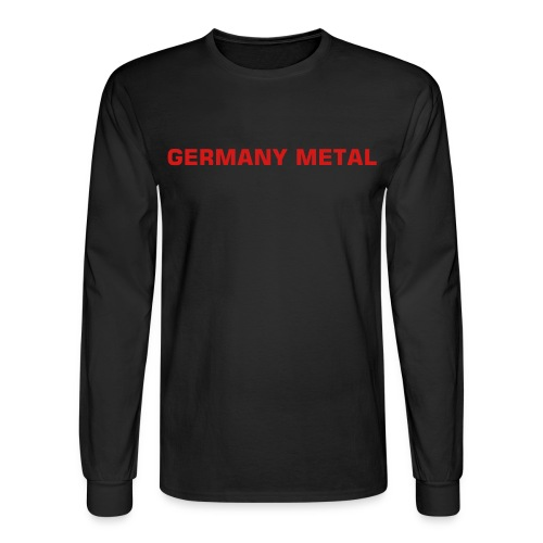 Germany Metal Long Sleeve Tee - Men's Long Sleeve T-Shirt