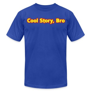 Cool Story Bro - Mens T-Shirt  - Men's T-Shirt by American Apparel