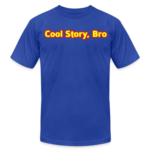 Cool Story Bro - Mens T-Shirt  - Men's  Jersey T-Shirt