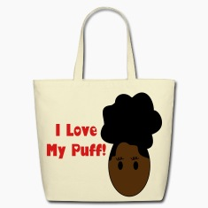 Afro Puff Bags