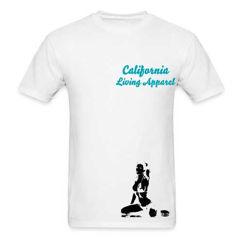 CLA Teal Cali Girl Tee - Men's T-Shirt
