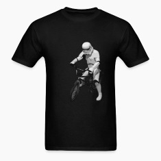 Star Wars Trooper cyclist T-Shirts