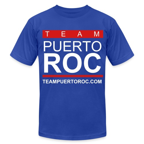 Official Puerto Roc Shirt - Men's Fine Jersey T-Shirt