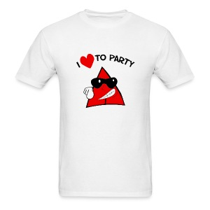 (New) I Love To Party, You Really To Go. - Men's T-Shirt