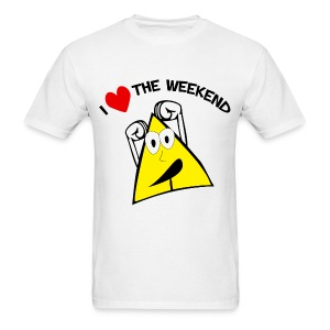 I Love The Weekend mens tee - Men's T-Shirt