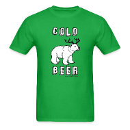 T-Shirts ~ Men's T-Shirt ~ COLD BEER