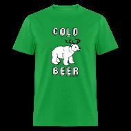 T-Shirts ~ Men's T-Shirt ~ COLD BEER