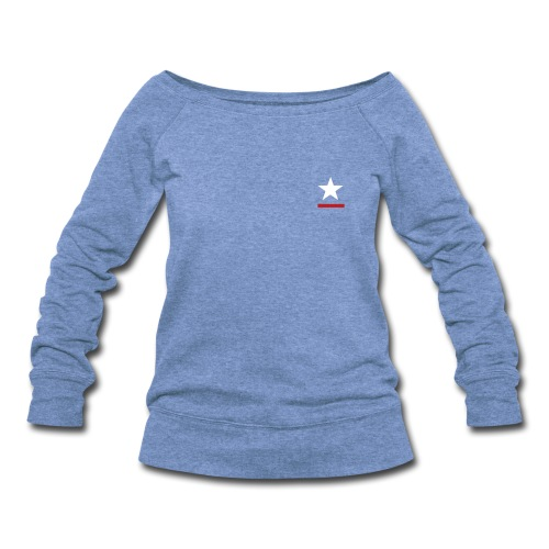 WOMEN  - Women's Wideneck Sweatshirt
