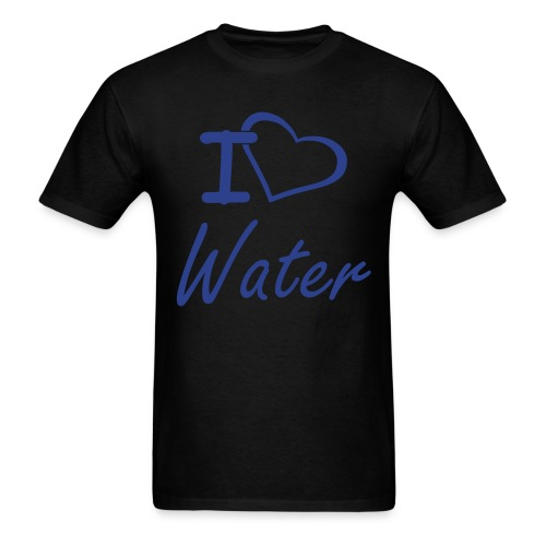 I Heart Water Men's T - Men's T-Shirt