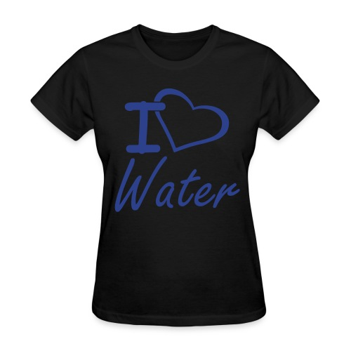 I Heart Water Women's T - Women's T-Shirt