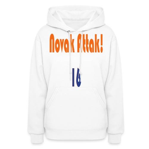Novak Attak! - Women's Hoodie