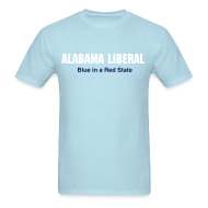 T-Shirts ~ Men's T-Shirt ~ Alabama Liberal