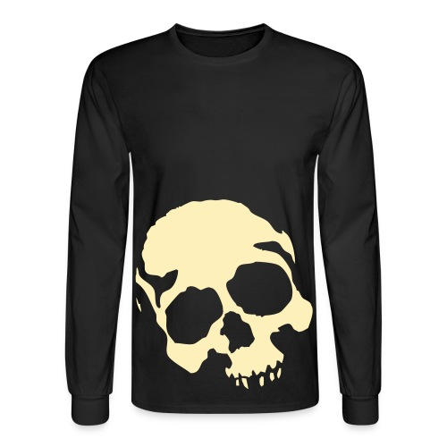 Mens long sleeve Skull  - Men's Long Sleeve T-Shirt