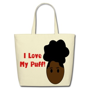 SN&LI! I Love My Puff - Eco-Friendly Cotton Tote
