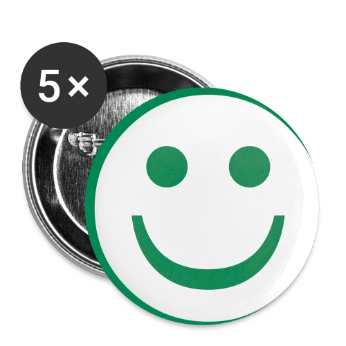 Show the smile without smiling! - Buttons small 1'' (5-pack)