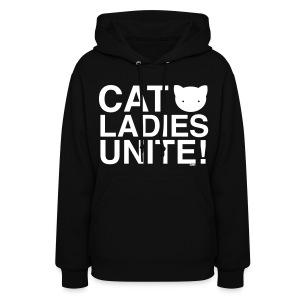 Cat Ladies Unite! - Women's Hoodie