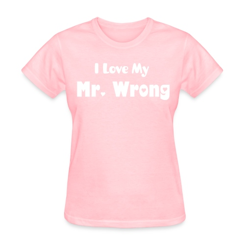 Mr. Wrong tee - Women's T-Shirt