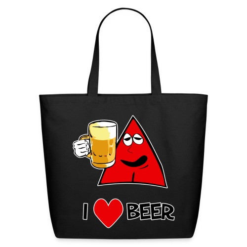 I Love Beer Tote Bag - Eco-Friendly Cotton Tote