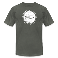 T-Shirts ~ Men's T-Shirt by American Apparel ~ coL Retro T-Shirt