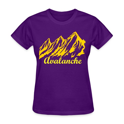 Womens Mountain Purple - Women's T-Shirt