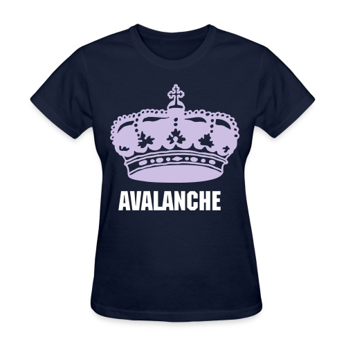Womens Crown Navy - Women's T-Shirt