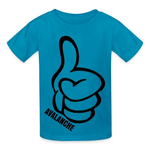 Kids Thumbs Up Tee Orange - Kids' T-Shirt