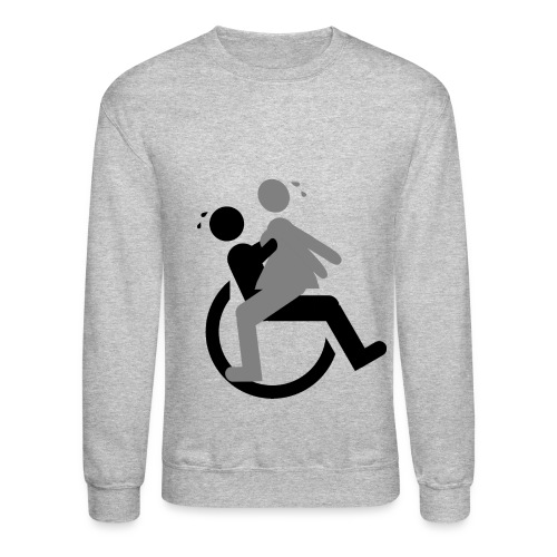 Handicap sex - Crewneck Sweatshirt