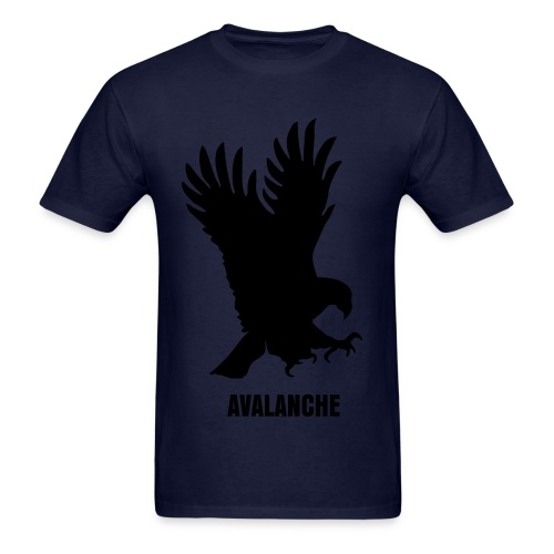 Avalanche Eagle - Navy - Men's T-Shirt