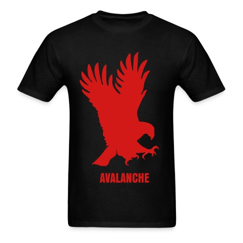 Avalanche Eagle - Black - Men's T-Shirt